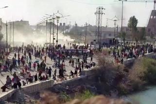 5 demonstran tewas dan 175 lainnya terluka dalam bentrokan di Nasiriyah
