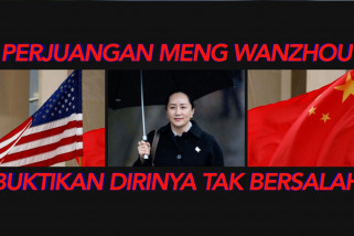 Perjuangan Meng Wanzhou buktikan dirinya tak bersalah