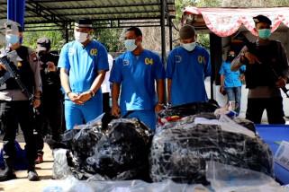 BNNP Kalbar gagalkan penyelundupan narkoba asal China