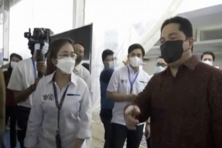 Menteri Erick dorong percepatan vaksinasi Covid-19