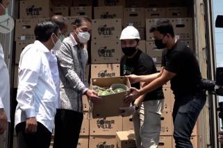 Mendag lepas ekpor produk tani buah semangka ke UAE