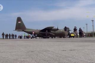 Hercules terbangkan bantuan dari Bali untuk NTT