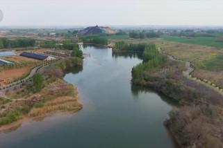 Area pertambangan batu bara yang kini jadi oasis perkotaan di Hebei