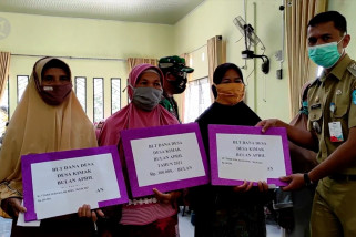 4793 Keluarga dari 62 desa di Kabupaten Bangka terima BLT