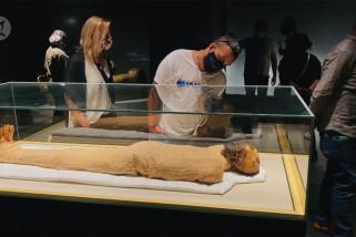 Mesir buka Aula Mumi Firaun untuk pengunjung di museum baru Kairo