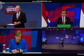 Presiden Jokowi ajak Jerman transformasikan digital di Indonesia