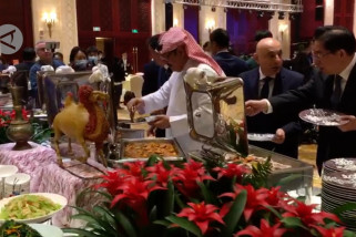 Pemuka Islam Xinjiang gelar Resepsi Hari Raya Idul Fitri