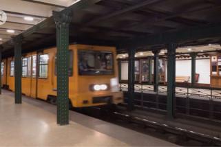 Jalur kereta bawah tanah pertama Eropa daratan di Budapest ultah ke-125