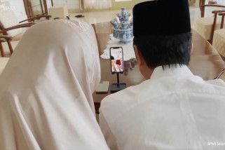 Lebaran sederhana ala Presiden Jokowi