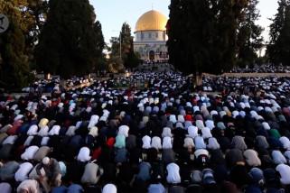 Palestina rayakan Idul Fitri dengan doa bagi korban serangan Israel