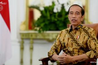 Presiden sebut TWK tak jadi dasar pemberhentian 75 pegawai KPK