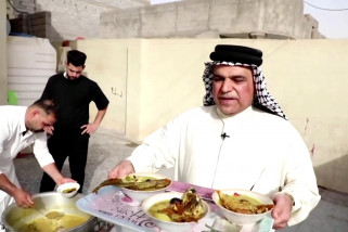 Masmouta, resep ikan purba hidangan Lebaran di Basra