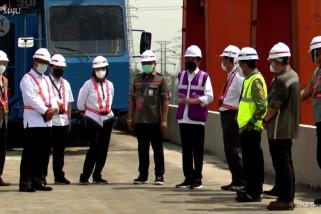 Presiden tinjau pembangunan konstruksi kereta cepat Jakarta-Bandung