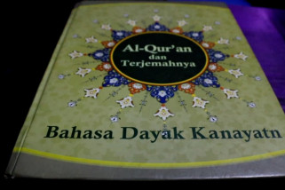 Perjuangan menerjemahkan Al Quran ke Bahasa Dayak Kanayatn