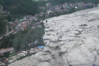 8 tewas, 12 orang hilang akibat banjir dan tanah longsor di Nepal