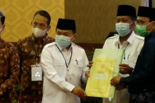 KPU tetapkan Haris - Sani Gubernur dan Wakil Gubernur Jambi terpilih