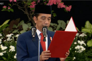 Presiden Jokowi lantik Gubernur dan Wagub Sulawesi Tengah