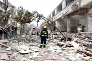 12 orang tewas dalam ledakan gas di Hubei, China