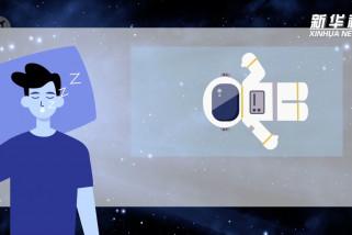 Bagaimana para astronaut tinggal di luar angkasa?