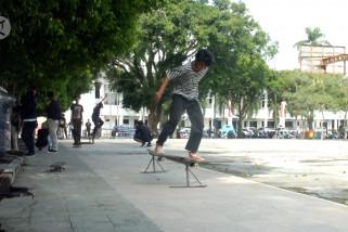 Skater Jatim meriahkan Hari Skateboarding Dunia