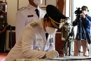 Usai dilantik, Zubir-Santoni pastikan tak ada konflik politik