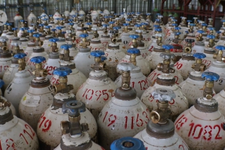 2.400 Tabung oksigen siap didistribusikan ke RS di Kalbar