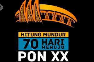 70 hari jelang pergelaran PON XX Papua