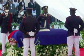 Pemakaman Presiden Haiti Moise berlangsung di Cap Haitien