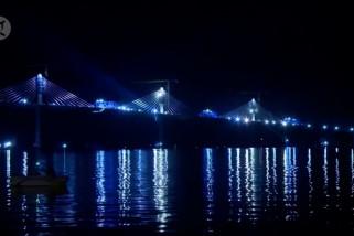 Menjangkau daratan Kroasia ke Dubrovnik dengan jembatan baru