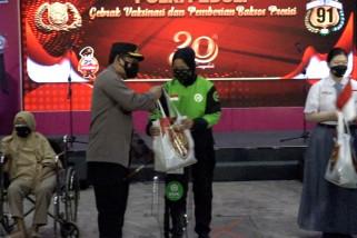 Polri Peduli gelar 91 gerai vaksinasi di Jakarta