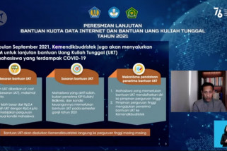 Pemerintah lanjutkan bantuan kuota internet pelajar