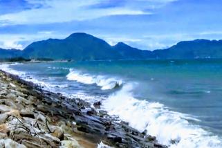 Gelombang tinggi di Aceh, nelayan tak bisa melaut