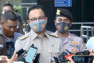 Anies Baswedan penuhi panggilan KPK terkait lahan Munjul