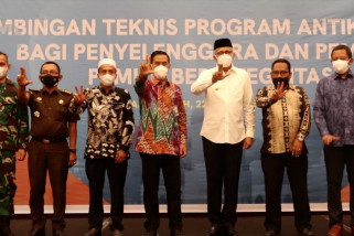 Bimtek antikorupsi bagi penyelenggara dan pemilih pemilu di Aceh