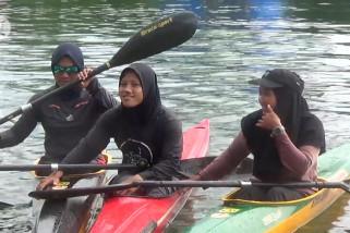 Atlet dayung Kalsel optimistis sabet emas PON Papua