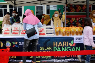 Pemerintah gelar bazar pangan murah untuk masyarakat