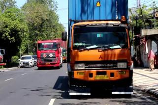 Pengusaha angkutan logistik Jatim target faktor muat 70 persen