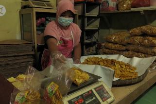 Geliat usaha olahan pisang khas Lumajang