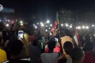 Demo menentang kudeta militer berlanjut di Sudan