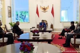 Presiden Jokowi terima kunjungan Menlu Malaysia