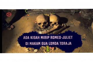 Sensasi berwisata yang tak biasa di Makam Gua Londa Toraja