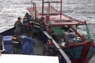 KKP amankan 140 kapal pelanggar hukum selama 2021