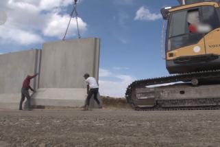 Turki bangun tembok perbatasan 1.005 km hadang imigran ilegal