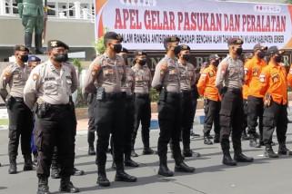 Antisipasi bencana alam, Pemkab Jember apel gelar pasukan